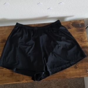 Swimsuits For All Swim Shorts Black Size 20